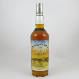 Dailuaine 17 Year Old Manager's Dram 2000 Front