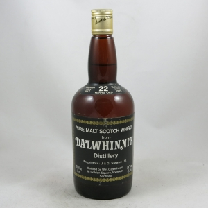 Dalwhinnie 1979 Cadenhead's 22 Year Old front