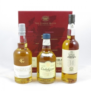 Classic Malt Gentle Pack (Glenkinchie, Oban, Dalwhinnie) and Caol Ila 4 x 20cl front