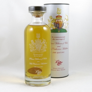 English Whisky Co Royal Marriage Bottle front
