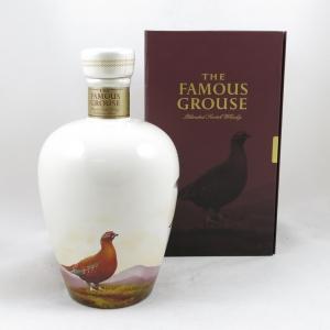 Famous Grouse Celebration Decanter Front