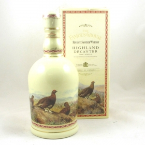 Famous Grouse Highland Decanter Front