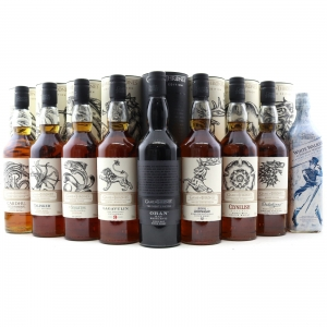 Game of Thrones Limited Editions 9 x 70cl