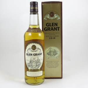 Glen Grant 10 Year Old Front