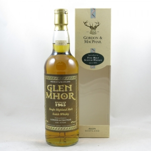 Glen Mhor 1965 Gordon and Macphail 42 Year Old front