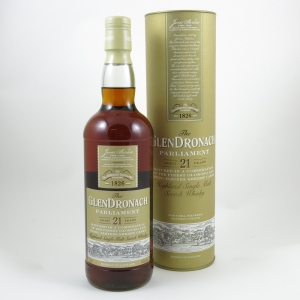 Glendronach 21 Year Old Parliament Front