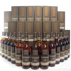 Glendronach Single Cask Batch #16 Collection 15 x 70cl