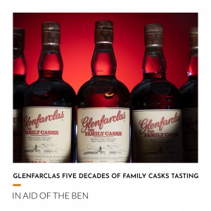 Glenfarclas Five Decades of Family Casks Tasting Experience - Charity Lot