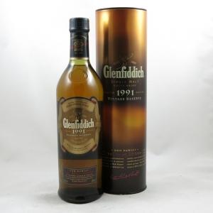 Glenfiddich 1991 Don Ramsay Vintage Reserve front