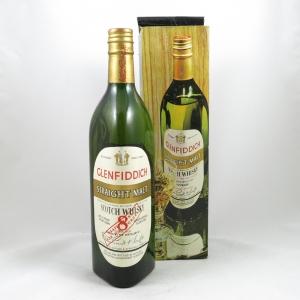 Glenfiddich Straight Malt 8 Year Old (NIAFF Bottle) 1960s front