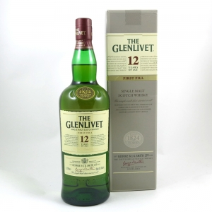 Glenlivet 12 Year Old 1 Litre Front