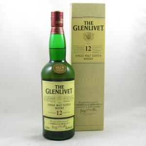 Glenlivet 12 Year Old Front