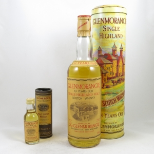 Glenmorangie 10 Year Old (Old Style) including 5cl front