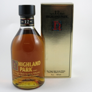 Highland Park 12 year old 1980s Front