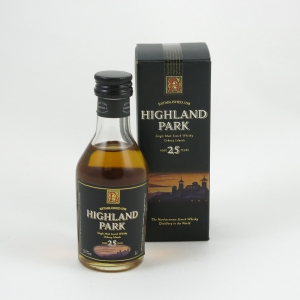 Highland Park 25 Year Old 5cl Miniature Front