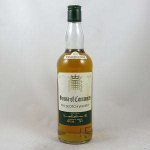 House of Commons 12 Year Old Blended Whisky 1980s front