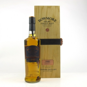 *Bowmore 1981 28 Year Old