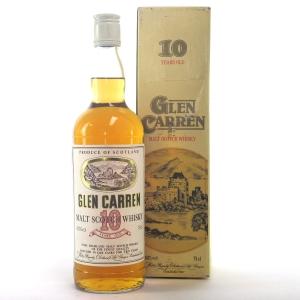 Glen Carren 10 Year Old Pure Highland Malt 1980s