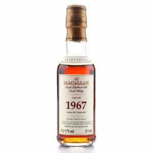 Macallan 1967 Fine and Rare 35 Year Old #1195 Miniature
