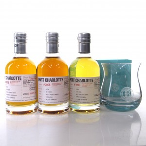 Bruichladdich Micro Provenance Tasting #5 3 x 20cl / With Laddie Dram Glass