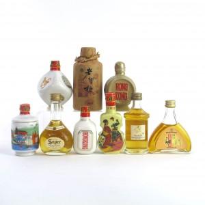 Miscellaneous Asian Spirit Selection x 9 / Including Super Nikka