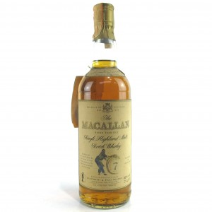 Macallan 7 Year Old Armando Giovinetti Special Selection 1980s