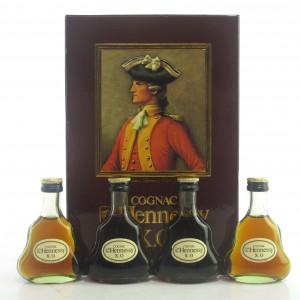 Hennessy XO Cognac Miniatures x 4