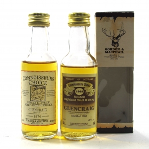 Glencraig Gordon and MacPhail Miniature 2 x 5cl