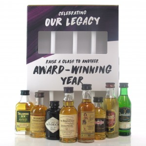William Grant & Son's 'Celebrating Our Legacy' Miniature Gift Pack / 8 x 5cl