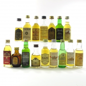Blended Scotch Whisky Miniature Selection x 16