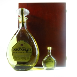 Penderyn Peated Edition Gift Pack / Including 5cl Miniature