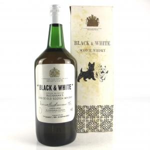 Black and White 1970s 40 Fl Oz