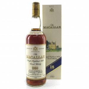 Macallan 1980 18 Year Old 75cl / US Import