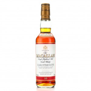 Macallan 10 Year Old Cask Strength 33cl / 58.1%