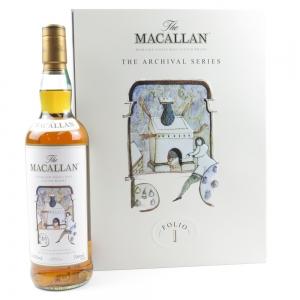 *NEEDS IMAGES Macallan Archival Series Folio 1