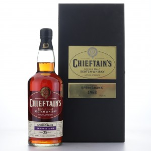 Springbank 1968 Chieftain's Single Cask 35 Year Old