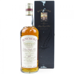 Bowmore 1974 21 Year Old