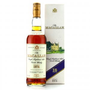 Macallan 1974 18 Year Old