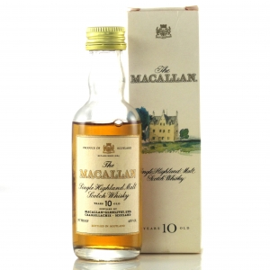 Macallan 10 Year Old 1990s Miniature 5cl