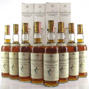 Macallan 7 Year Old Armando Giovinetti Special Selection 8 x 70cl