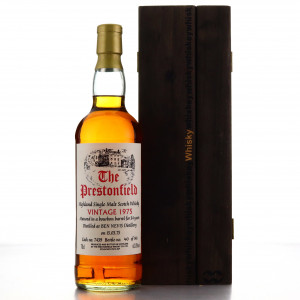 Ben Nevis 1975 The Prestonfield 34 Year Old