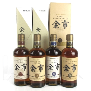 Yoichi 10, 12, 15 and 20 Year Old Collection 4 x 70cl