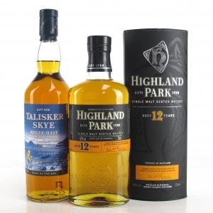 Highland Park 12 Year Old and Talisker Skye