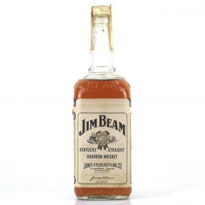 Jim Beam Kentucky Straight Bourbon 1970s