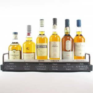 Classic Malts Collection 6 x 70cl / Including Plinth