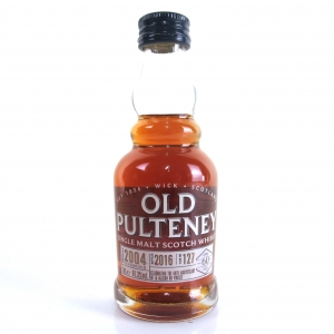 Old Pulteney 2004 Single Cask 12 Year Old #127 Miniature 5cl / 60th Anniversary LMDW