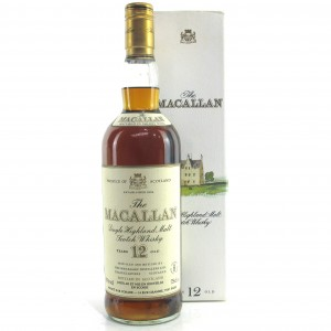 Macallan 12 Year Old 1980s / Corade Import