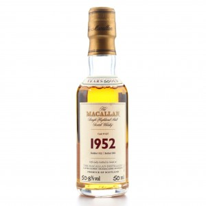 Macallan 1952 Fine and Rare 50 Year Old #627 Miniature
