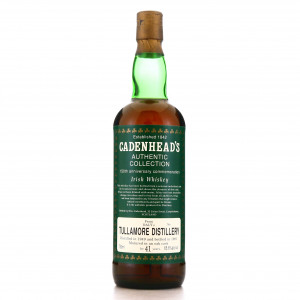 Daly's Tullamore 1949 Cadenhead's 41 Year Old / 150th Anniversary