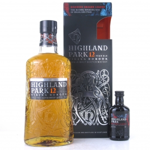 Highland Park 12 Year Old Viking Honour / with Dragon Legend Miniature 5cl